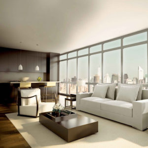 City apartment interior designs