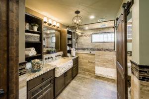 custom bathroom remodeling and design showroom for Rhode Island luxury coastal homes