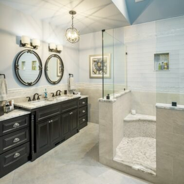 Custom home remodeling showroom - Rhode Island