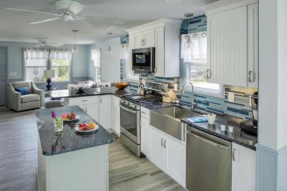 Custom kitchen remodeling designs for Rhode Island luxury coastal homes