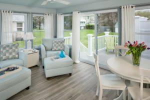 Home Remodeling - Living room - custom furnishings in RI luxury home