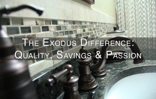 Exodus Design Difference - kitchen bathroom fixtures