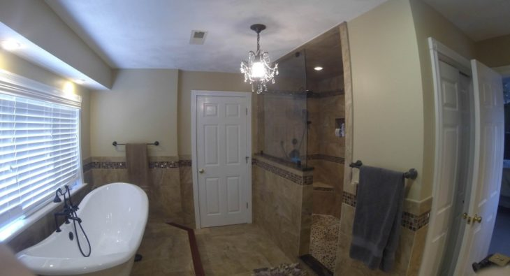 Bathroom Remodeling - Completed project in Rhode Island