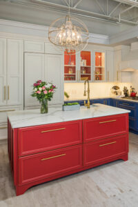 Cabinets and fixtures with customized heights, widths and depths - rollouts and drawers for kitchens or bathroom. Lighting and trim features for perfect finishing touches.